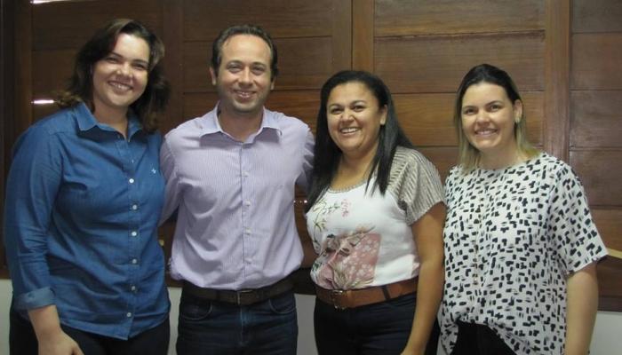 Visita de representantes da Universidade Potiguar – UnP