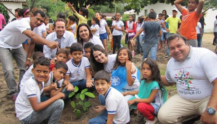 Ação em alusão ao Dia Mundial do Meio Ambiente