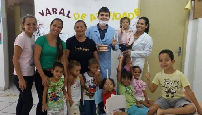 Ações de Saúde Bucal nas escolas