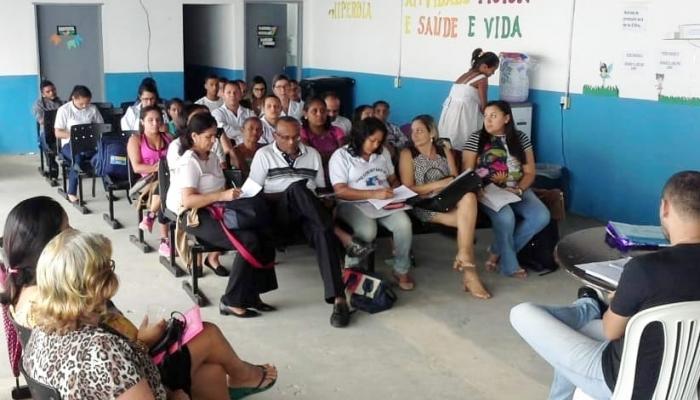 Reunião itinerante do Conselho Municipal de Saúde