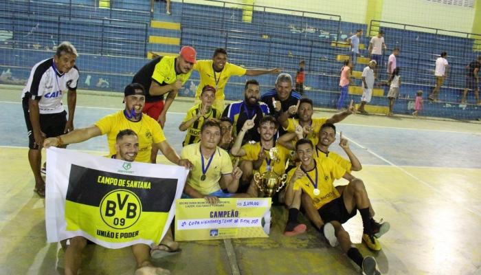 Borussia vence o Campeonato Municipal de Futsal 2018