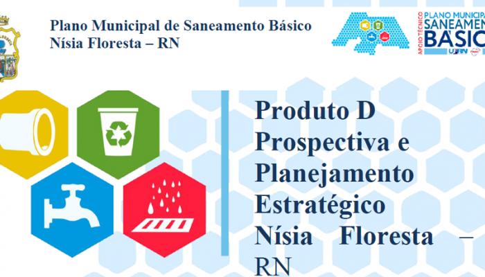 """O Comitê Executivo do Plano Municipal de Saneamento Básico de Nísia Floresta -RN, torna público a """"Prospectiva e Planejamento Estratégico Preliminar"""""""