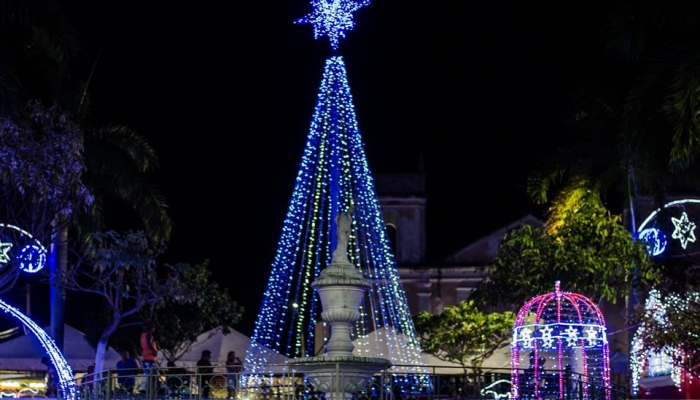 """""""Natal Luz"""" é o tema da decoração natalina 2019 em Nísia Floresta"""