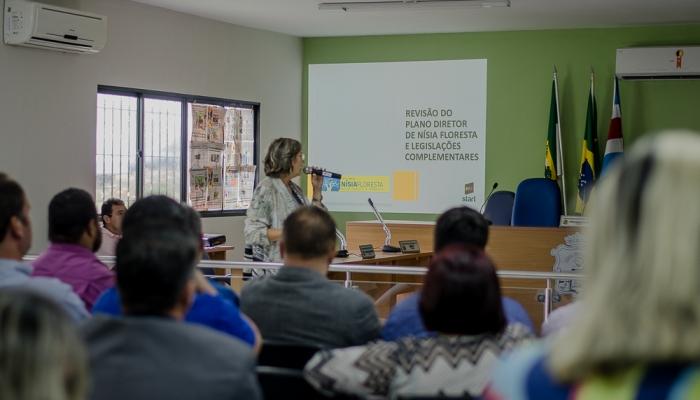 Audiência Pública marca início do processo de revisão do Plano Diretor