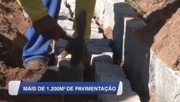 [VÍDEO] PREFEITURA DE NÍSIA FLORESTA REALIZA PAVIMENTAÇÃO DE TRECHO DA RUA ALECRIM, EM TIMBÓ