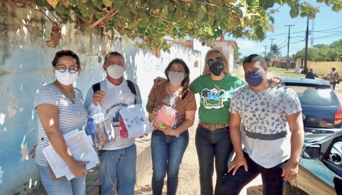 SEMTHAS PROSSEGUE COM A ENTREGA DE KITS EDUCATIVOS NO MUNICÍPIO