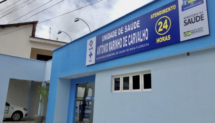 PREFEITURA DE NÍSIA FLORESTA INAUGURA PRONTO ATENDIMENTO 24 HORAS